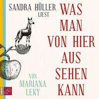 SANDRA HÜLLER - MARIANA LEKY: WAS MAN VON HIER AUS SEHEN KANN  6 CD NEU