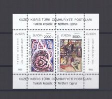 TURKISH CYPRUS, EUROPA CEPT 1993, CONTEMPORARY ART S/S, MNH