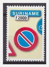 Surinam / Suriname 2001 Trafficsign 5 roadsign verkehrsschild MNH