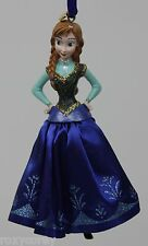 Disney Store Frozen Anna 2014 Sketchbook Christmas Holiday Tree Ornament NWT