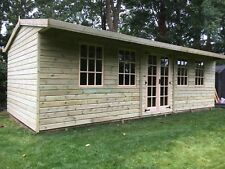 20x10 Gloucestershire Georgian summerhouse with 2ft porch 19mm