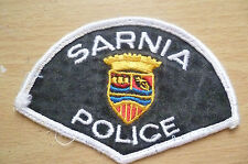 Patches: SARNIA CANADA POLICE PATCH (NEW* apx.11x7cm)