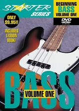Beginning Bass Volume One Starter Series Dvd Starter Series Video Dvd 000320327
