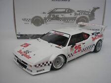 BMW M1 #25 IMSA GTO CLASSE LA TIMES GP RIVERSIDE 1981 1/18 MINICHAMPS 180812925