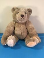 "VTG 1982 Gund Bialosky Teddy Bear Plush Stuffed Animal 16"" Jointed Arms and Legs"