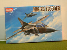 1/144 scale MIG-23 FLOGGER  model aircraft by ACADEMY