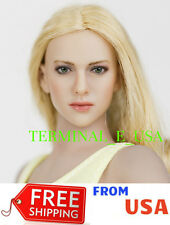 1/6 KIMI KT004 Amanda Seyfried Female BROWN Hair Head Sculpt For Phicen ❶USA❶