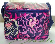 NEW Vera Bradley STAY COOLER KATALINA PINK Insulated Lunch Box Bag Tote SLR