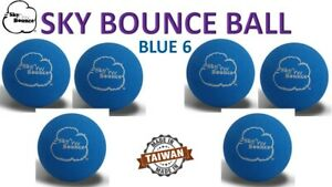 6 SKY BOUNCE BLUE COLOR - HAND BALLS / RACKET BALL RACQUETBALL (TAIWAN)