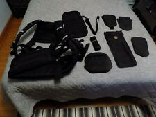 NWOT SEARCH and RESCUE HARNESS, MOLLE POUCH SET, INFINITI GEAR, TACTICAL BLACK