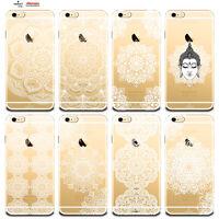 Custodia Cover Design Fiore Mandala Per Apple iPhone 4 4s 5 5s 5c 6 6s 7 Plus SE
