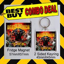 Got Your Six-Five Finger Death Punch -CD COVER KEYRING - KEY CHAIN - FRIDGE MAGN