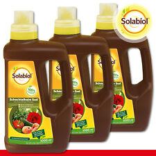 Solabiol 3 x 1 L Prêle Sud Pour Pilzanfällige Plantes
