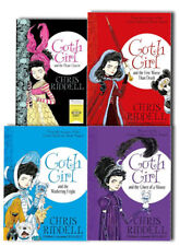 Goth Girl Set 4 Books Series Collection Pack Brand New Chris Riddells