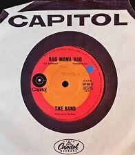 45rpm single - The Band - Rag Mama Rag/The Unfaithful Servant (Exc)
