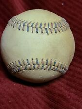 Mystery Antique Vintage Red and Blue Stitched Baseball 1930's? Stitches Ruth Era
