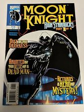 Moon Knight #1 February 1999 Marvel Comics Moench Texeira