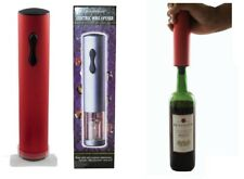 4 Pieces Modern Vineyard Wine Bottle Electric Corkscrews Opener Cork Removers
