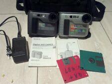 TWO Sony Mavica MVC-FD73 0.4MP Digital Camera