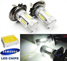 2x SAMSUNG LED H7 For VOLKSWAGEN VW Projector Corner Light High Power White Bulb