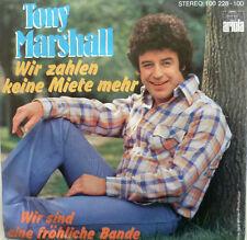 """7""""1978 MINT-! TONY MARSHALL Wir zahlen keine Miete mehr"""