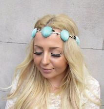 Mint Green Sea Shell Headband Mermaid Crown Hair Band Ariel Costume Boho 2435