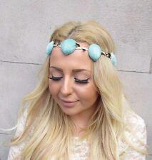 Mint Green Sea Shell Headband Mermaid Crown Hair Band Ariel Costume Boho 2435