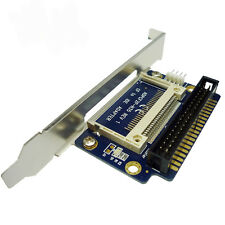 Compact Flash CF To 3.5 IDE 40Pin Male Adapter Card Bracket Version