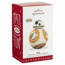 Hallmark 2016 BB-8 Ornament- Star Wars  The Force Awakens Keepsake