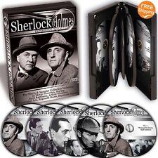 Sherlock Holmes -  Basil Rathbone Arthur Wontner Christopher Lee 10 Movies 5DVDs