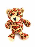 "Galerie Hershey's Kisses Teddy Bear Stuffed 6"" Plush Chocolate Red Spots"