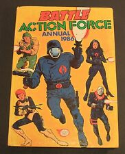 1986 Fleetway ACTION FORCE / G.I. JOE Annual Hardcover UK exclusive book GD cond