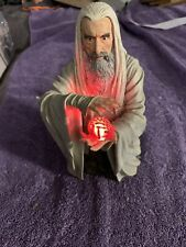 GENTLE GIANT LORD OF THE RINGS LIGHT-UP SARUMAN COLLECTIBLE BUST 1333/3500