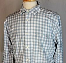 NEW Brooks Brothers REGENT Fit Gray & White Gingham Check  Size Large Shirt $79