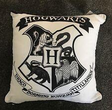 Brand New Harry Potter Hogwarts Crest Pillow Cushion Primark