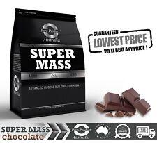 6kg MASS GAINER PROTEIN POWDER CHOCOLATE WEIGHT SERIOUS BULK