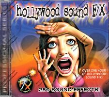 HOLLYWOOD SOUND EFFECTS OVER 1 HOUR OF CLASSIC TELEVISION, MOVIE & HALLOWEEN F/X