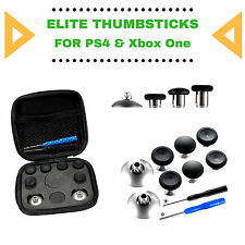 Ps4 & Xbox One elite thumbsticks set magnético intercambiables 3 alturas dif.