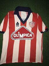 DIDI VALDERRAMA 1986 Match Worn Shirt Junior de Barranquilla