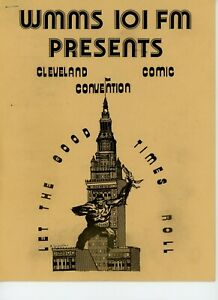 WMMS Cleveland Comic Convention Program 1973 MINT
