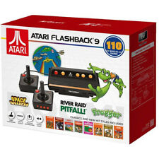 Atari Flashback 9 AR3050 HDMI Game Consoles with Wired Joystick Controllers - Black