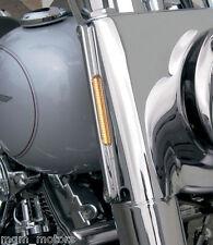 Frecce led Harley Davidson Road King chrome Front signal FLHRC FLHRI FLHRCI CNC