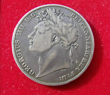 More details for 1821 half crown coin king george iiii .925 silver. british coins