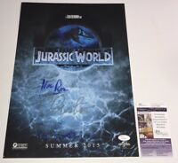 CHRIS PRATT Signed 11x17 Photo JURASSIC WORLD FALLEN KINGDOM Autograph JSA COA