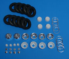 AMT Kenworth W-925, Rig-Semi Rim & 10.00-20 Goodyear Tire Set 1/25 Scale