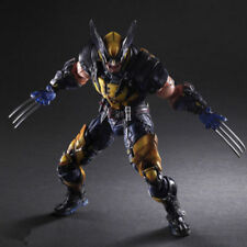 "Play Arts Kai PA Wolverine Action Figure Model New Marvel PVC 10"" Statue X-MEN"