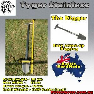 Tyger Stainless Stand up Digging Tool - the Digger