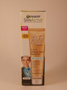 Garnier BB Cream Skin Active 5-in-1 Miracle Skin Oily/Combo Light/Medium 2.0 oz.