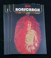 DC COMICS RORSCHACH #1 (OF 12) COVER A JORGE FORNES