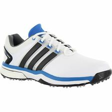 ADIDAS MENS ADIPOWER BOOST GOLF SHOES WHITE Q46923 SIZE 8 MEDIUM